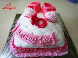 #д160(13) детский торт на 1 год