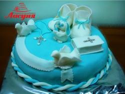 #д160(35) Детский торт на крестины