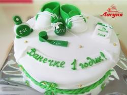 #д160(47) Детский торт на 1 годик