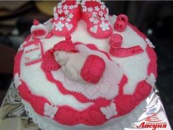 #д160(51) детский торт на 1 годик