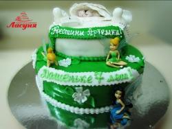 #д180(24) Детский торт Феи Винкс