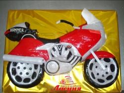 #д200(18) торт мотоцикл