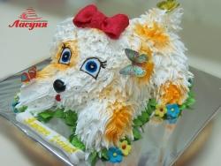 #д115(49) торт Собачка