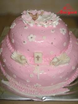 #д115(63) торт на Крестины