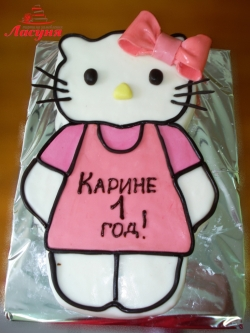 #д140(3) Торт Хелло Китти Hello Kitty