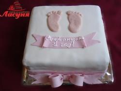#д140(5) Детский торт на 1 год