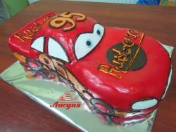 #д140(7) торт Тачки Маквин McQueen