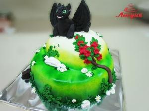 """#д200(22) торт дракон мультфильм """"Как приручить дракона"""""""