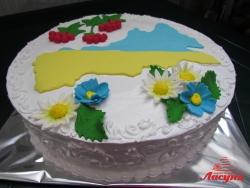 #п130(18) торт Черкасская область для начальника