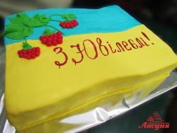 #п140(35) торт флаг Украины