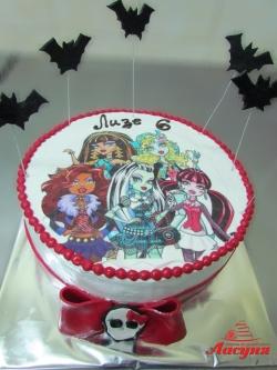 #д105(32) торт Монстер Хай Monster High