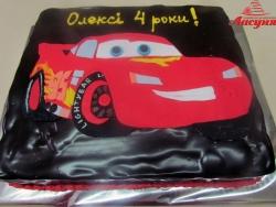 #д105(36) торт тачки Молния Маквин