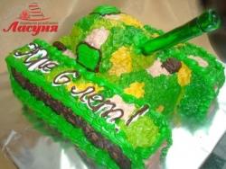 #д115(27) торт Танк