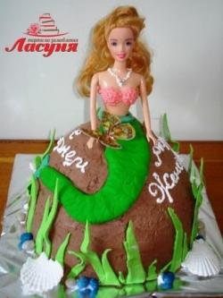 #д115(31) торт русалка
