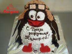 #д115(34) торт Пингвин Пин Смешарики