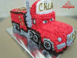 #д115(50) торт красный грузовик