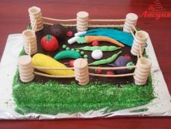 #д115(54) торт огород