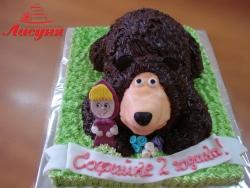 # д115(57) торт Маша и Медведь
