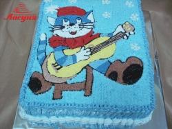 #д115(59) торт Простоквашино Кот Матроскин