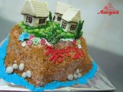 #д115(66) торт домики