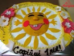 #д115(67) торт солнышко