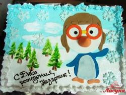 #д115(73) торт пингвинёнок пороро