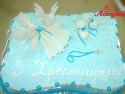 #д115(78) торт на крестины