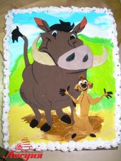 #д115(87) торт Тимон и Пумба