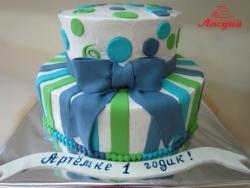 #д115(96) торт на 1 годик