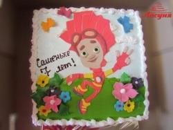 #д115(97) торт Фиксики Фаер