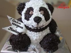 #д115(98) торт мишка Панда