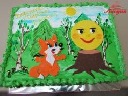 #д115(99) торт Колобок