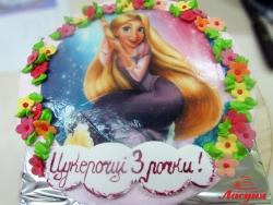 #д130(1) фото торт Рапунцель