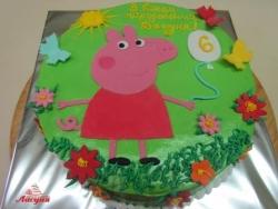 #д135(107) торт Свинка Пеппа Peppa Pig