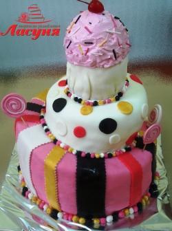 #д140(14) торт на день рождения