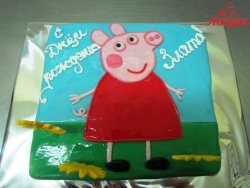 #д140(15) торт Свинка Пеппа Peppa Pig