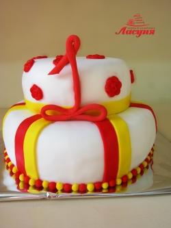 #д140(17) торт на 1 год