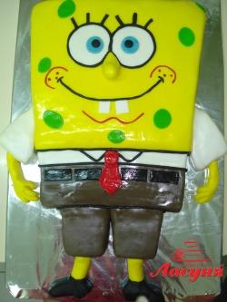 #д140(35) торт Губка Боб Spanch Bob