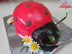 #д140(39) торт божья коровка