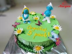 #д140(39) торт Смурфики