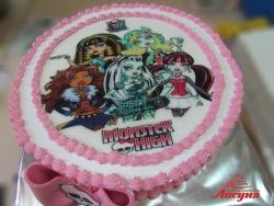 #д140(41) торт Монстер Хай Monster High