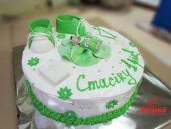 #д140(42) торт на 1 годик мальчику