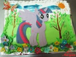 #д140(43) торт Пони Радуга