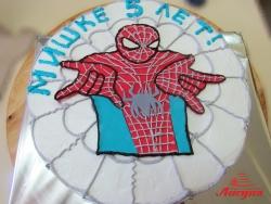 #д140(44) торт Спайдермен