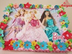 #д140(45) фото торт Барби