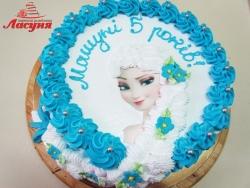 #д140(46) торт Эльза Холодное Сердце