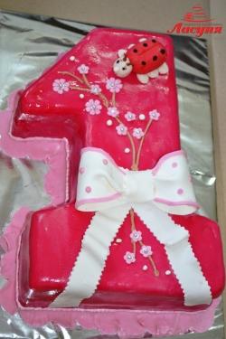 #д140(9) торт на 1 годик