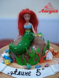 #д150(15) торт Русалочка
