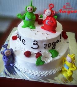 #д150(2) торт телепузики