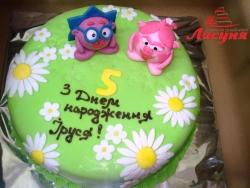 #д150(20) торт Смешарики